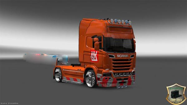 Skin LUKOIL for Scania Streamline