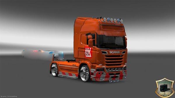 Skin LUKOIL for Scania Streamline