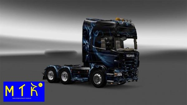 Skin Scania Abstract Effect