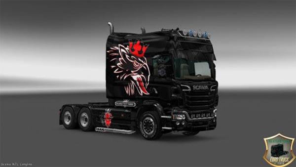 Skin Vabus for Scania v8 Longline RJL