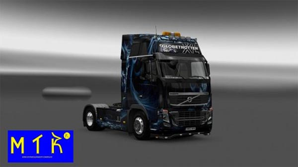 Skin Volvo FH16 Abstract Effect