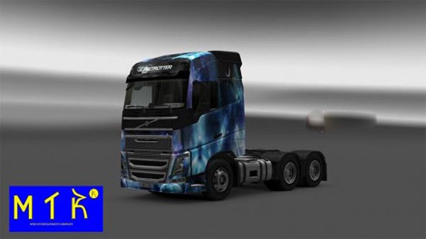Skin Volvo FH16 New Space Nature