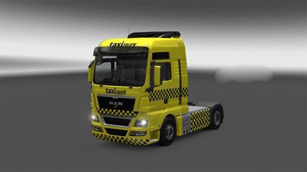 Taxi Truck MAN skin