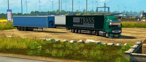 Tirsan Transport Trailer