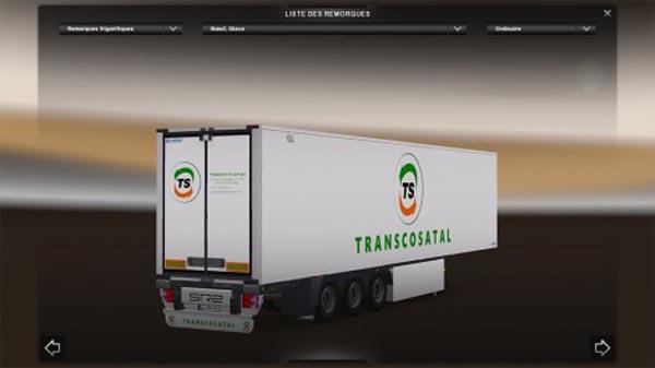 Transcosatal Trailer Lamberet SR2