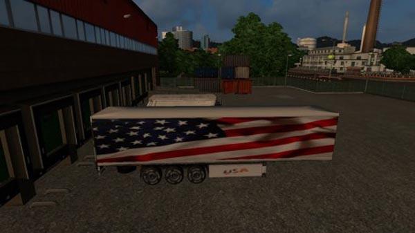 United States Trailer Skin