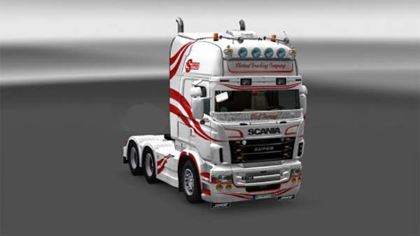 Virtual trucking company skin