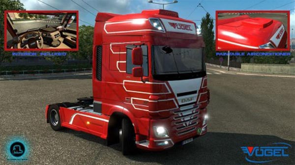 Voegel Transporte DAF XF based on Ohahah v1
