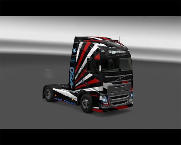 Volvo Stripes Skin