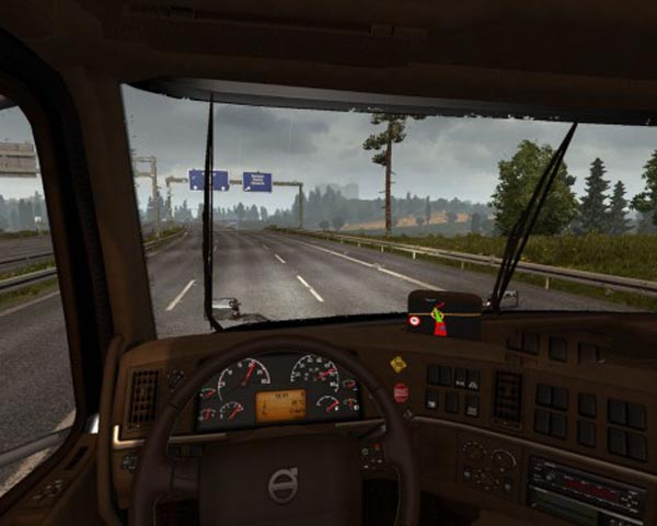 Volvo VNL 670 Brown Interior