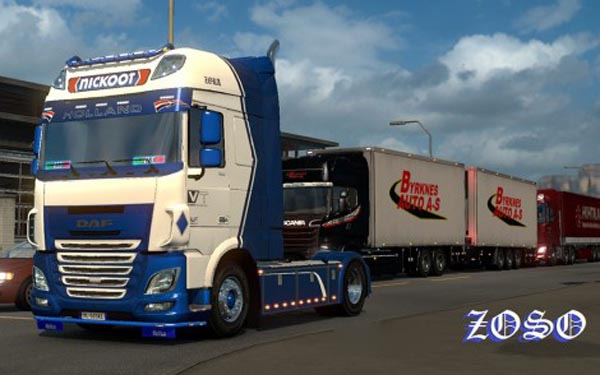 DAF XF E6 Ohaha Nickoot Internationale Koeltransporten Skin update