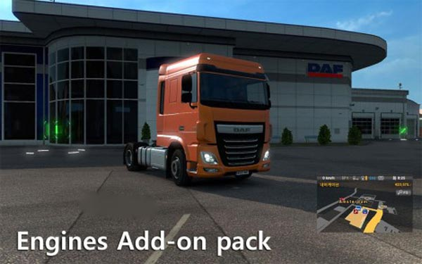 Engine add-on pack