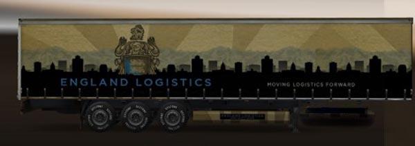 England logistic standalone trailer
