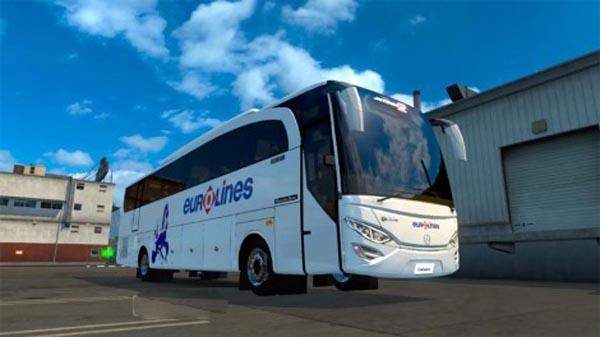 EuroLines EU Skin for the JetBus V2