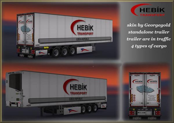 Hebik Transport Trailer
