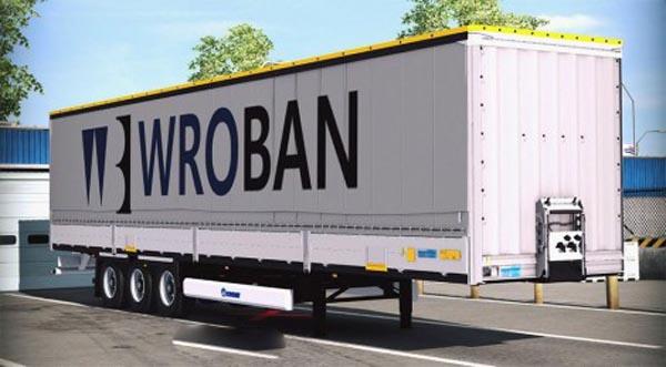 Krone Profiliner SDP27 trailer