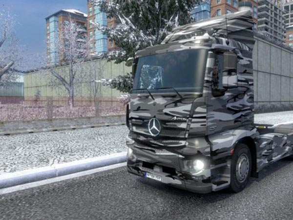 Mercedes Antos Winter Camo Skin