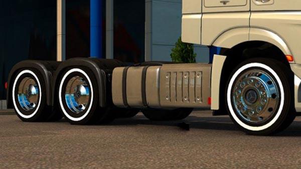 Mercedes Benz Alcoa Wheel