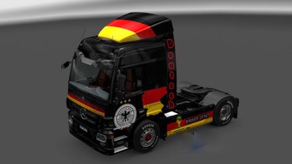 Mercedes Benz Germany Squad Skin