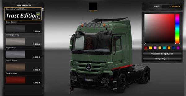 Mercedes Trust Edition skin