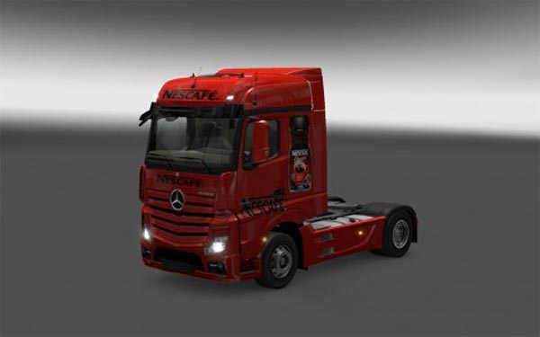 Nescafe Skin Actros MP4