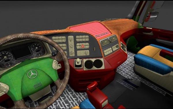 New speedometer Actros