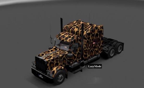 Peterbilt 389 Modified Cheetah Skin