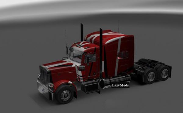 Peterbilt 389 Modified Lines Skin