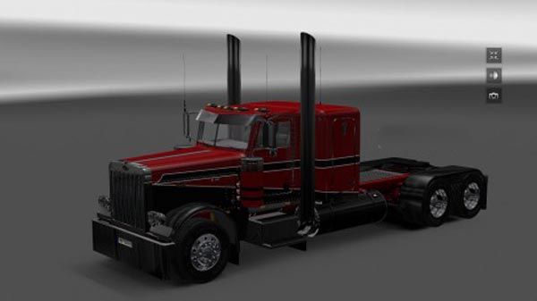 Peterbilt skin pack Red Black