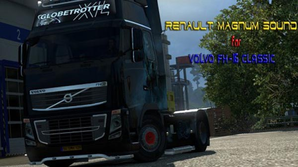 Renault Magnum Sound for Volvo FH16 Classic