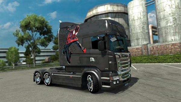Scania Exc Longline RJL Skin
