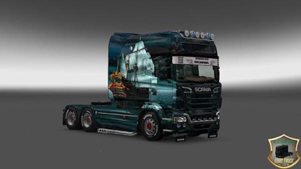 Scania RJL Longline Ship Skin