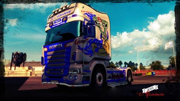 Scania RJL Team Desiderio Skin