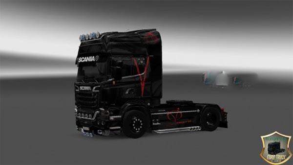 Scania Streamline Vendetta v2 Skin