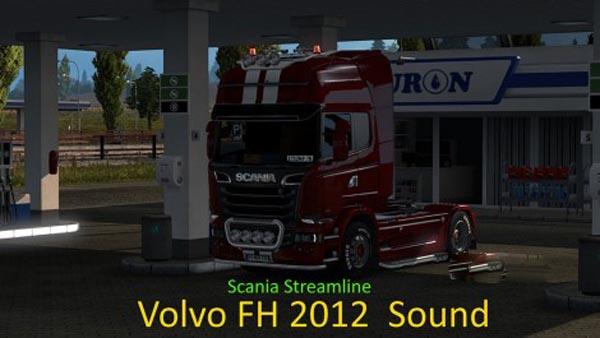 Scania Streamline Volvo FH 2012 Sound