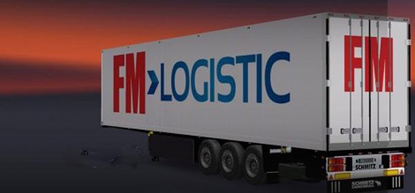 Schmitz FM Logistic Trailer