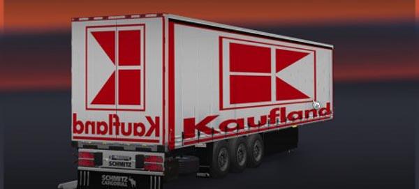 Schmitz Kaufland Trailer