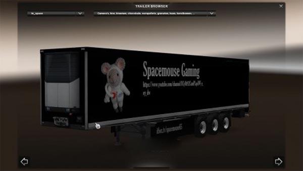 Spacemouse Gaming Skinpack