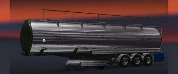 Tank Trailer Chrome