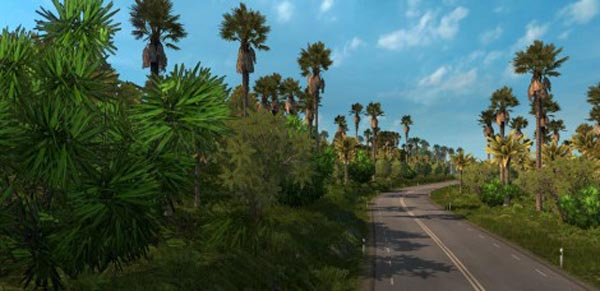 Tropical Trees Mod