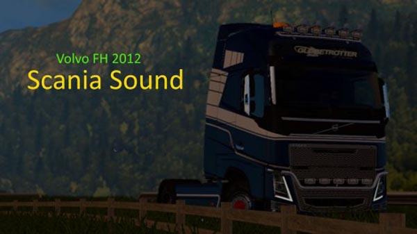 Volvo FH 2012 Scania Sound