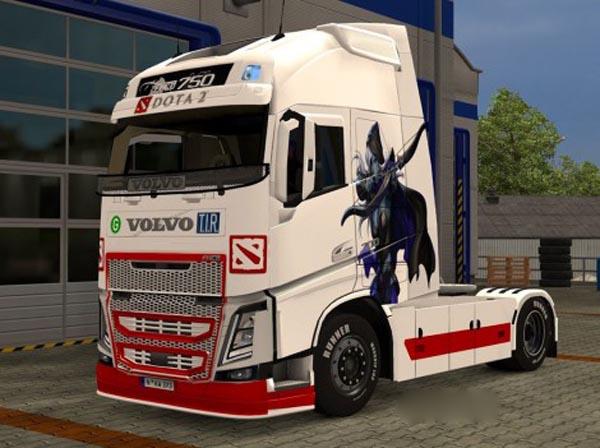 Volvo FH 2013 Dota 2 Skin