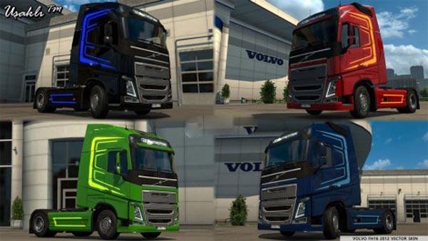Volvo FH16 2012 Vector Skin