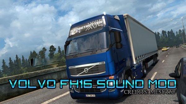 Volvo FH16 Sound mod