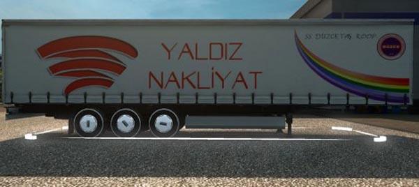Yaldız Nakliyat and SS.DuzceKoop Trailer