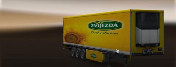 Zvijezda Refrigerated Trailer v 1.0