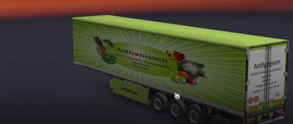 Anthonissen Fridge Trailer