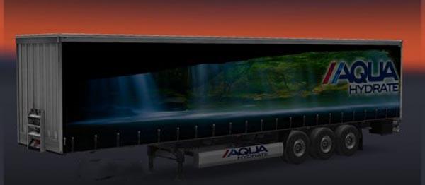 Aqua Hydrate Water Trailer Skin