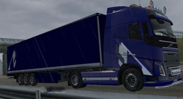 Blue Dark Stripes COMBO PACK  Volvo FH 2012