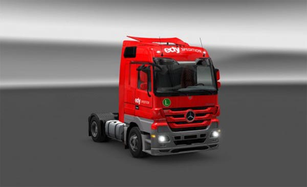 Edy Spedition Skin for Actros MP3